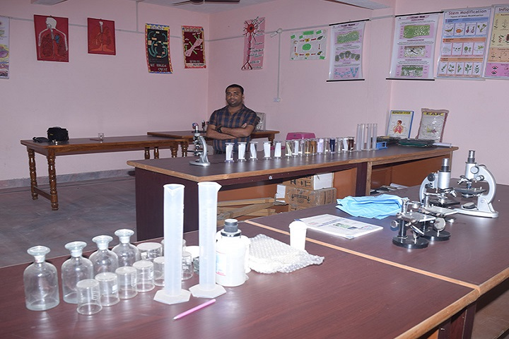 Ambika Public School-Biology Lab