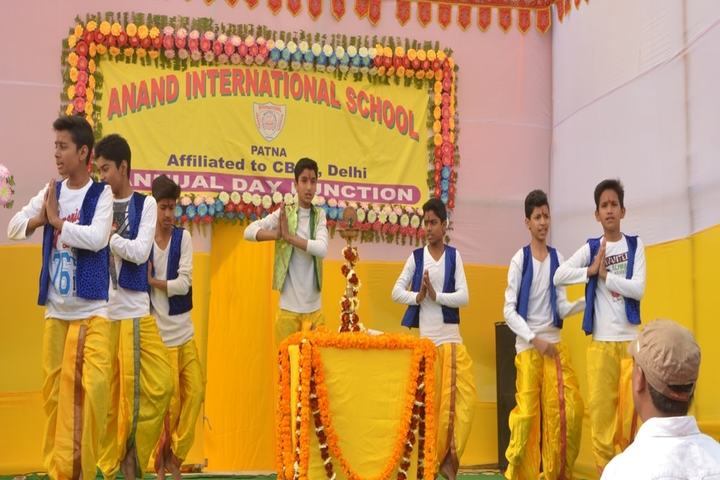 Anand International School-Event
