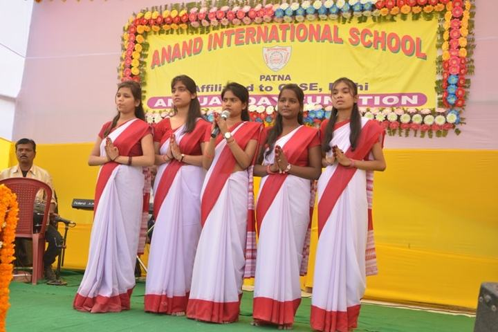Anand International School-Group Song