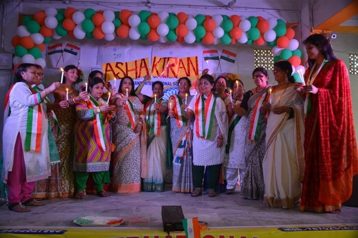 Anand International School-Independence Day