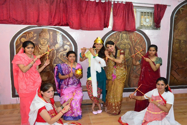 Jawahar Navodaya Vidyalaya-Janmastami Celebration