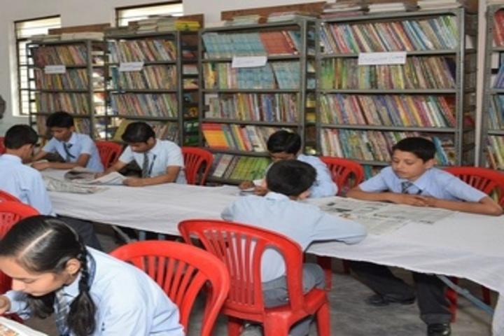 Anand Prep Public School -  Library