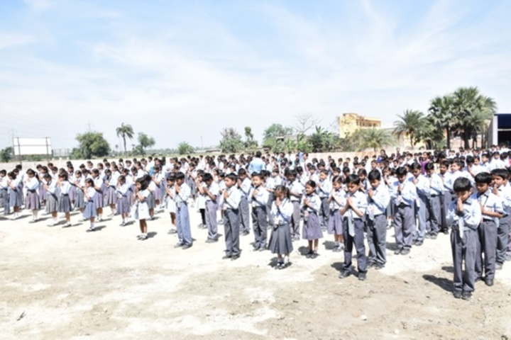 Anand Prep Public School - assembly
