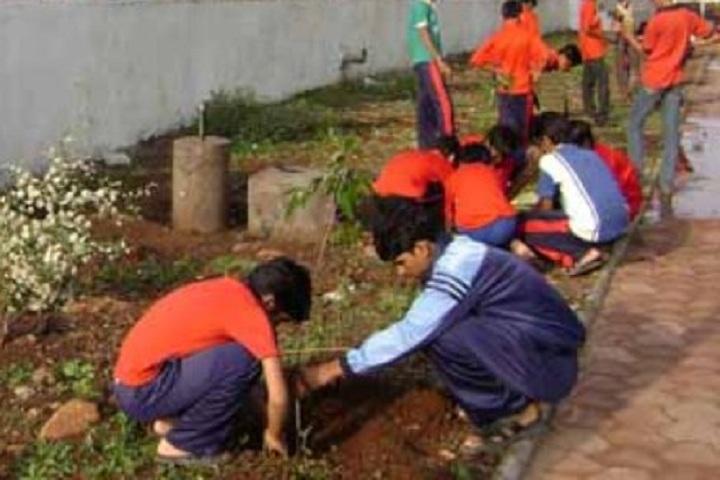 Jawahar Navodaya Vidyalaya-Try Plantation