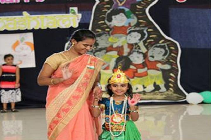 Mahatma Gandhi International School-Janmastami Celebration