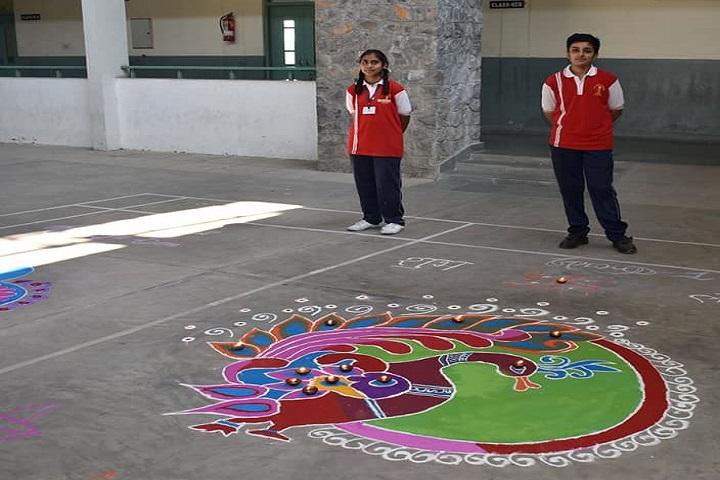 Jay Jyoti School-Rangoli Competitions