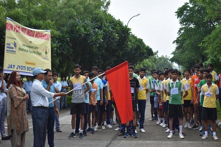 Jay Jyoti School-Sports Day