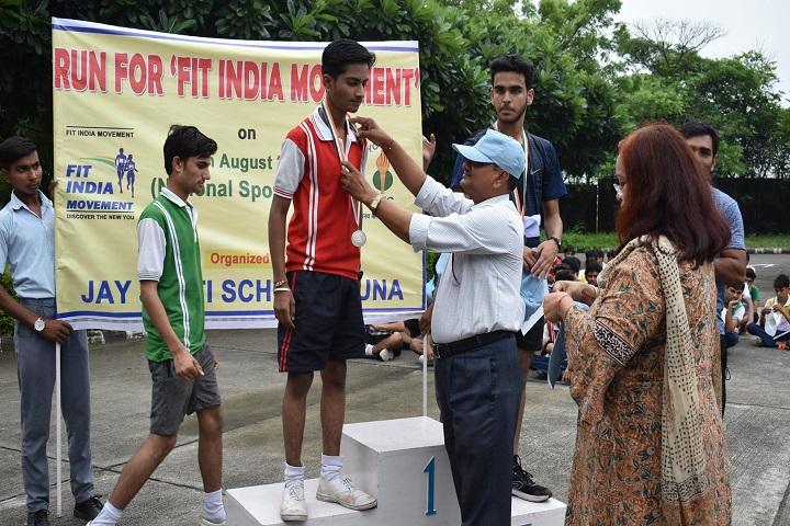 Jay Jyoti School-Sports Winner