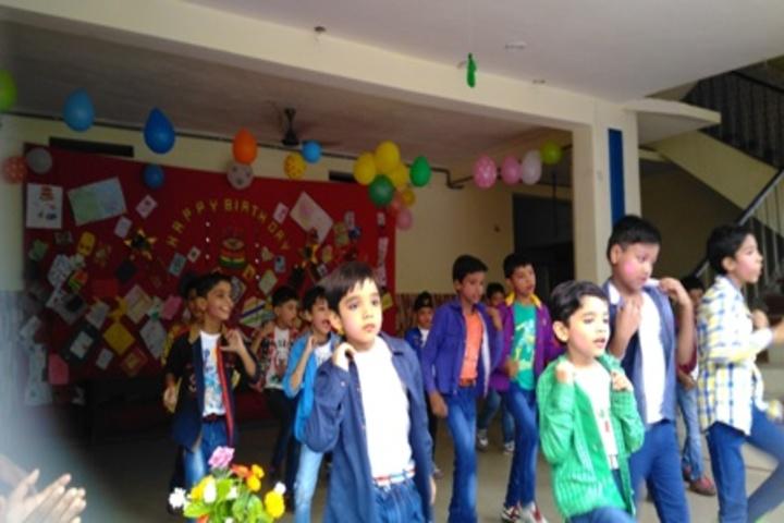 Jyoti School-Dancing Activity