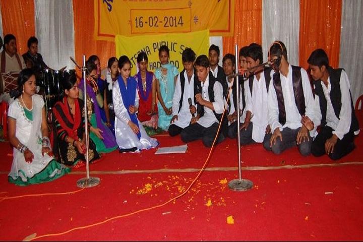 Jyotsana Public School-Group Singing Competition