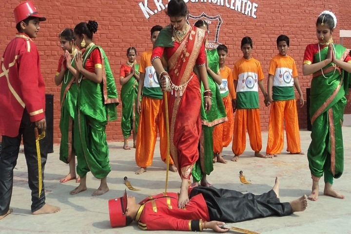 K R Education Centre-Independence Day Celebrations