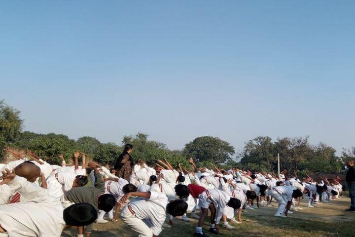 Ankur Public School-yoga