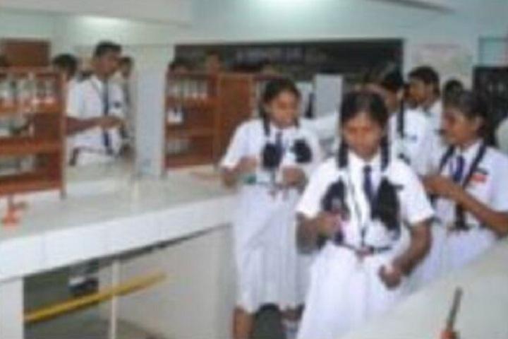 Kailashpat Singhania High School-Chemistry Lab