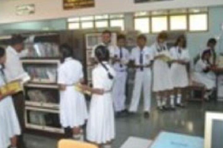 Kailashpat Singhania High School-Library