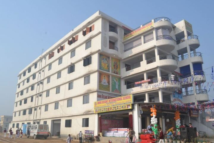 Annie besant international school - School building