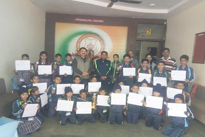 Kdbm International School-Sports Team