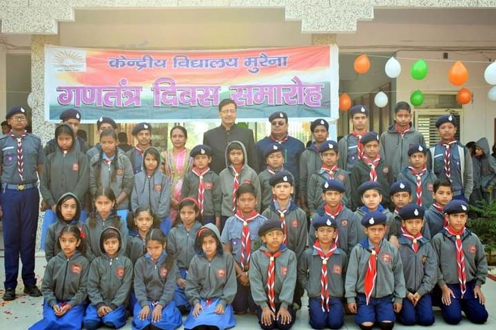 Kendriya Vidyalaya-scout team