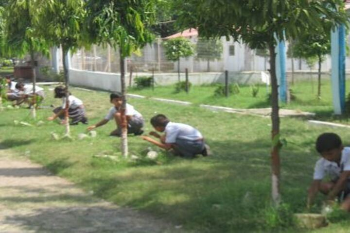 Army Public School-Cleanliness Drive