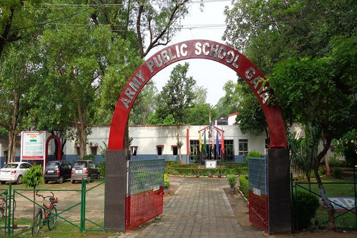 Army Public School-Campus Entrances