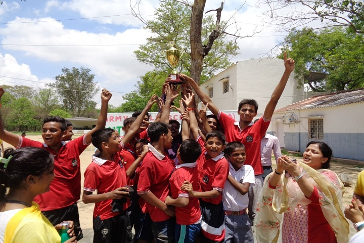 Army Public School-Kabbadi Winner