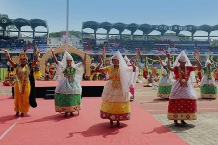 Kendriya Vidyalaya-Cultural Day