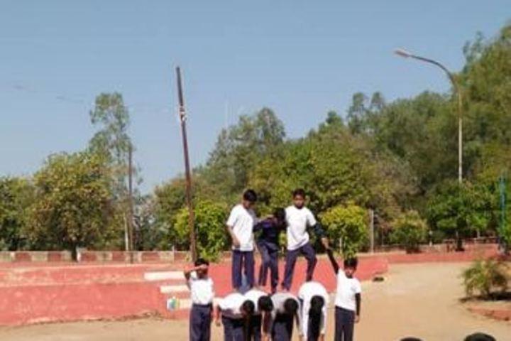 Kendriya Vidyalaya-Human Pyramid