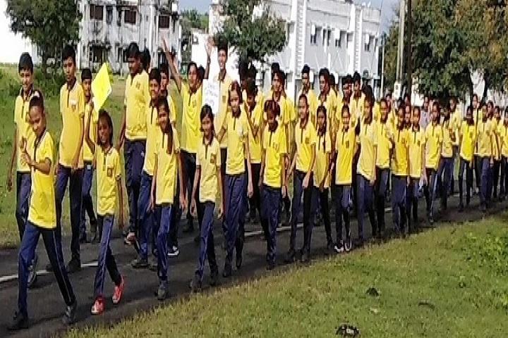 Kendriya Vidyalaya-Yellow Day