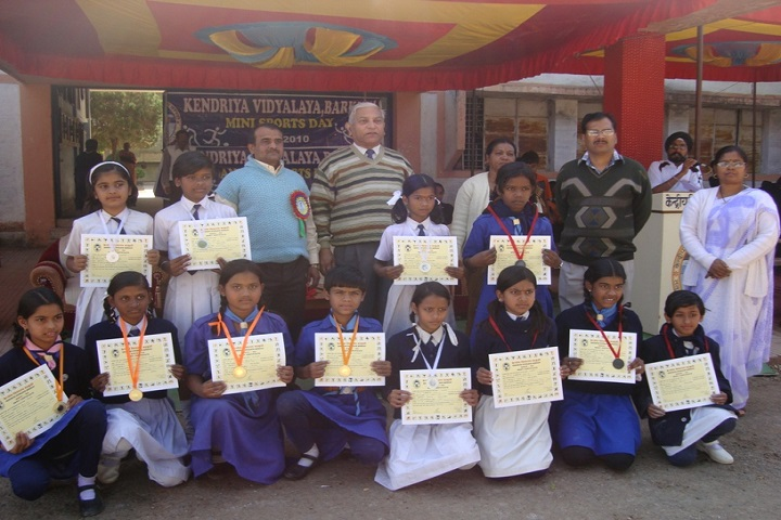 Kendriya Vidyalaya-Annual Sports Winners