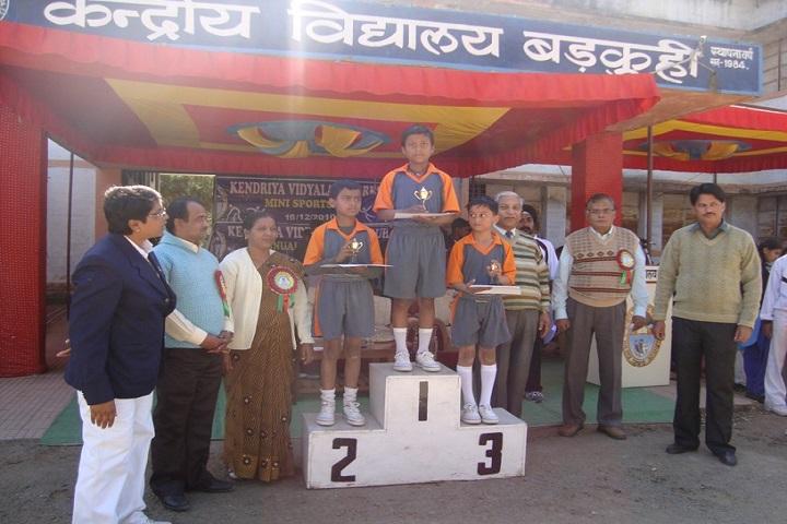 Kendriya Vidyalaya-Sports Winner