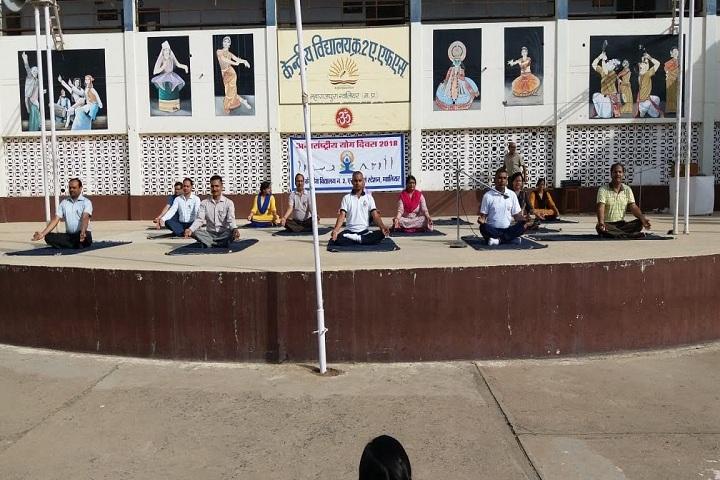 Kendriya Vidyalaya No 2 -Yoga Day