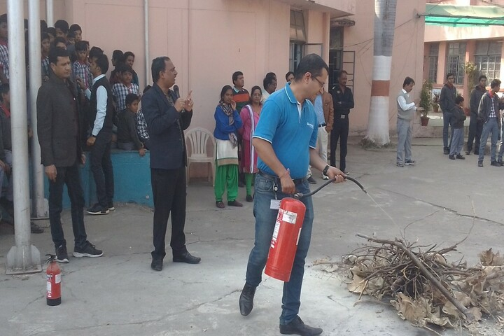 Kendriya Vidyalaya No 2-Fire Drill Activity