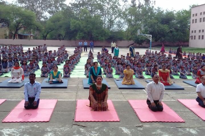 Kendriya Vidyalaya No 2-Yoga Day