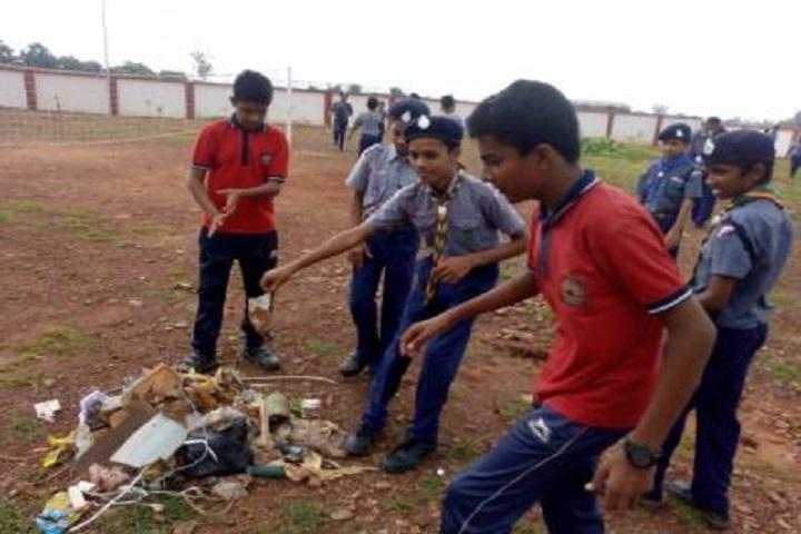Kendriya Vidyalaya No 2-Cleaning The Campus
