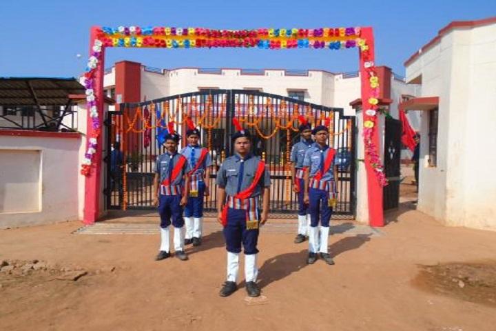 Kendriya Vidyalaya No 2-Entrances