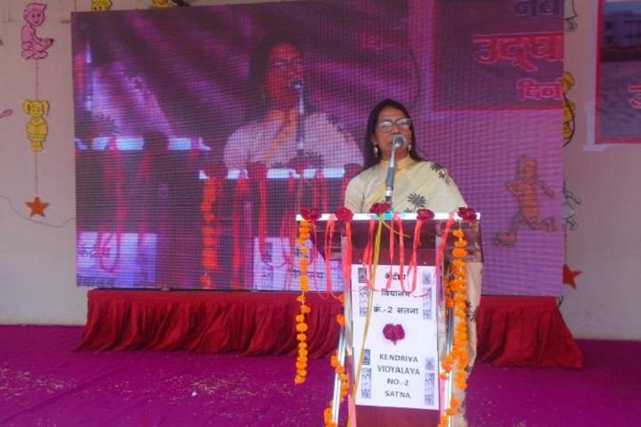 Kendriya Vidyalaya No 2-Speech