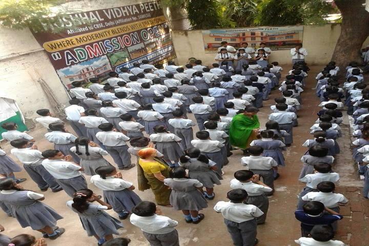 Khushal Vidya Peeth-Morning Assembly