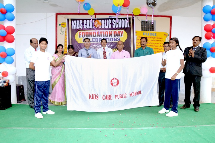Kids Care Public School-Foundation Day