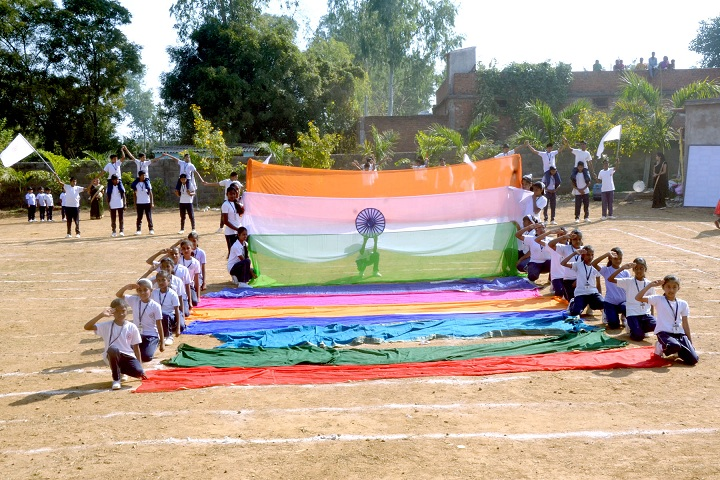 Kids Care Public School-Independence Day