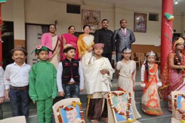 Krishna Academy High School - Fancy Dress Competition