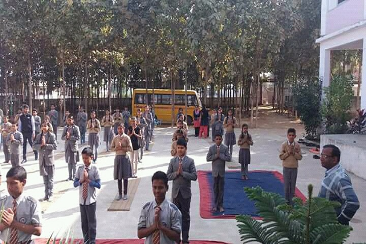 Krishna Public School-Assemble