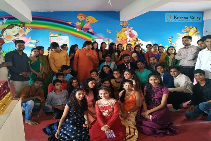 Krishna Valley International School-Fare Well Day Celebration