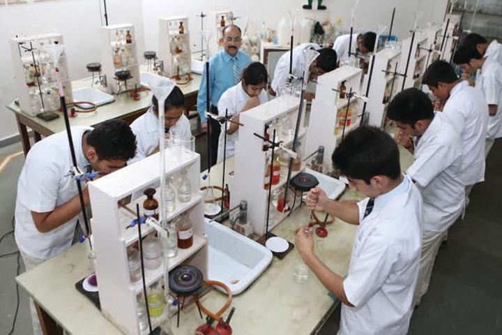 Little Flower International School-Science Lab