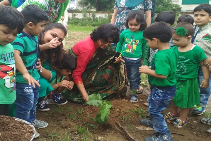 Little World School-Tree Plantation