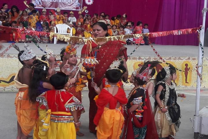 Lokmanya Tilak Higher Secondary School-Janmashtami Celebrations