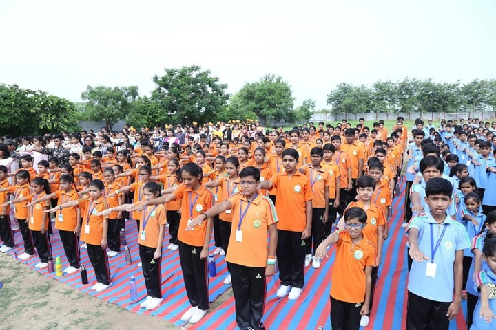 Lotus Valley School-Assembly