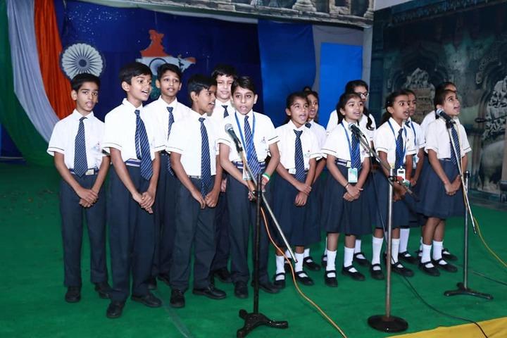 Lotus Valley School-Singing