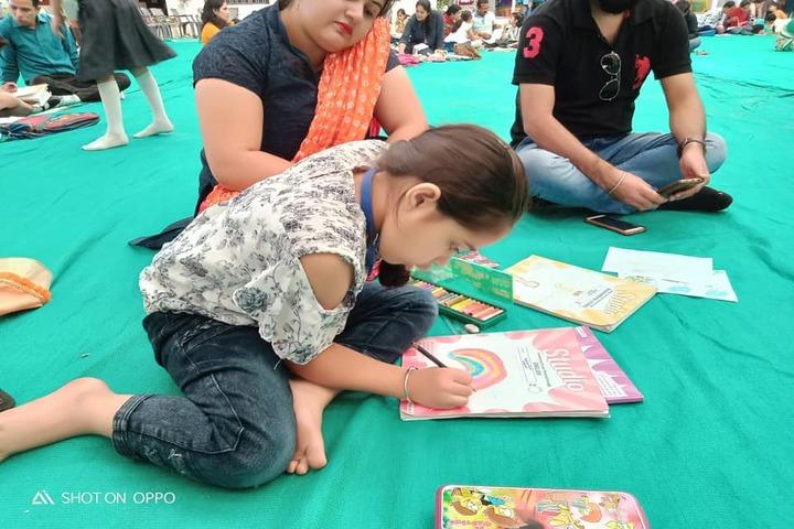 Lotus Valley School-Drawing Activity