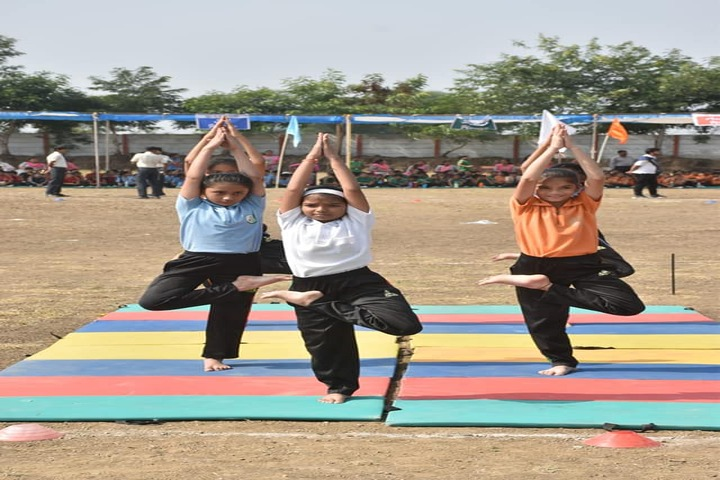 Lotus Valley School-Yoga Activity