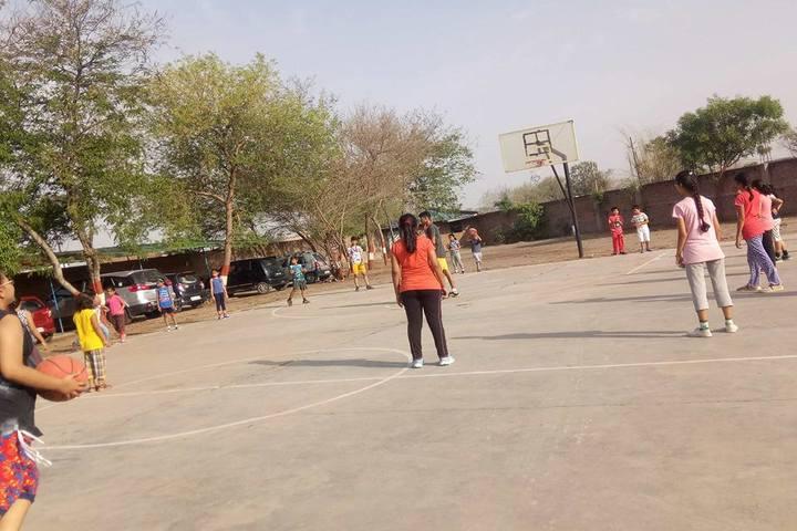 Lovedale School-Basket Ball Court