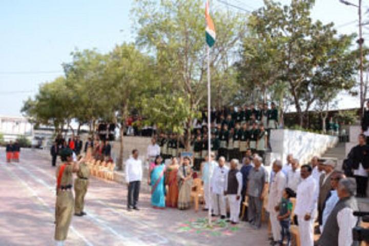 Maa Umiya Patidar Girls Higher Secondary School-Events republic day